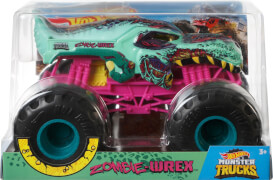 Mattel GCX24 Hot Wheels Monster Trucks 1:24 Die-Cast Zombie-Wrex
