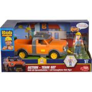 Simba Bob der Baumeister - Action-''Team Tread + Bob'', ca. 21 cm, ab 3 Jahre,