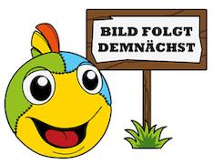 Sigikid 41318 Patchwork Sweety - Handpuppe Froschkönig, 27 cm, ab 2 Jahre