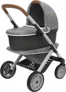 Smoby Quinny 3in1 Puppenwagen grau
