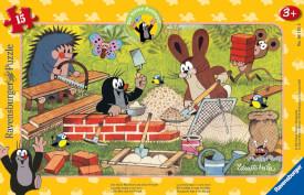 Ravensburger 061518 Puzzle: Der Maulwurf und seine Freunde 15 Teile