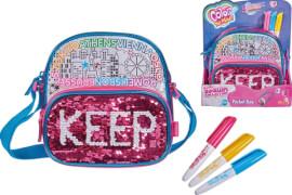 Simba Color Me Mine - Handtasche ''Swap Pocket Bag'' inkl. 3 Stifte, ca. 18x18 cm, ab 6 Jahre