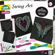 LENA® String Art Schmetterling & Herz