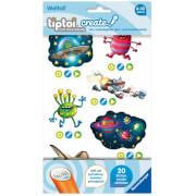 Ravensburger 009107 tiptoi® CREATE Sticker Weltall