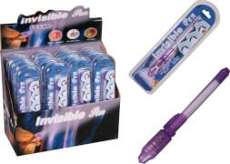 Geheimstift mit unsichtbare Tinte + UV-Licht