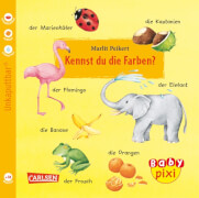 Buch ''Baby Pixi - Band 5: Kennst du die Farben?'', 16 Seiten, ab 18 Monaten