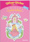 Tessloff Glitzer-Sticker-Malbuch. Zauberschloss