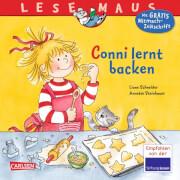 Lesemaus - Band 81: Conni lernt backen, Taschenbuch, 24 Seiten, ab 3 Jahren