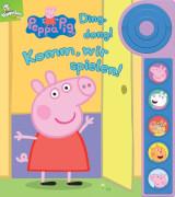 Peppa Pig - Ding Dong! Komm, wir spielen! , Kinderbuch ab 18 Monaten