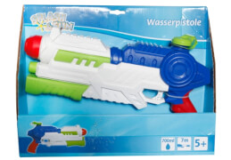Splash & Fun Wasserpistole mit Pumpfunktion, 700ml