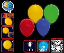 LED Leucht-Luftballons blinkend