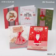 Depesche 8621 Designers Best Weihnachtsklappkarten