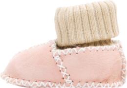 Fillikid Baby Lammfell Schuhe, rosa, Gr. 17/18